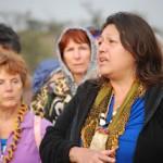 Grandmother Gail Whitlow (Mohawk, Bear Clan)